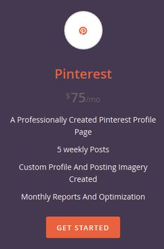 Pinterest Social Media Management