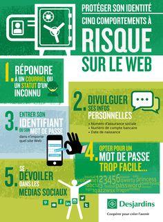 Protection de votre identité en ligne : avez-vous de bons réflexes ? #cybersécurité #fraude
