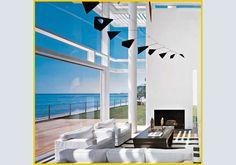 A casa, sul mare. Una straordinaria residenza creata dall'archistar Richard Meier.