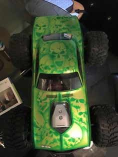 RockStar Paint RC Cars RC Cars Paint Jobs Pinterest Car - Custom vinyl decals for rc carsimages of cars painted with flames true fire flames on rc car