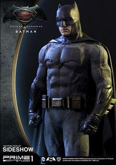 Prime 1 Studio is proud to present BATMAN from Batman v Superman: Dawn of Justice. Batman Armor, Batman Vs Superman, Ultimate Batman, Dc Comics, Superhero Villains, Dawn Of Justice, Batman Universe, Batman Family, Catwoman
