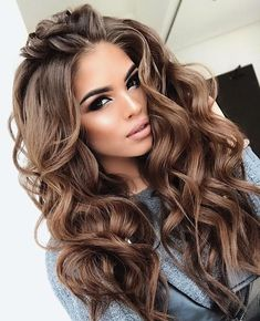 Long Wavy Ash-Brown Balayage - 20 Light Brown Hair Color Ideas for Your New Look - The Trending Hairstyle Brown Hair Shades, Brown Hair With Blonde Highlights, Light Brown Hair, Brown Hair Colors, Hair Highlights, Dark Brown, Color Highlights, Long Face Hairstyles, Wig Hairstyles