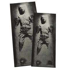 Kissing The Carpet: Han Solo In Carbonite Floor Rugs
