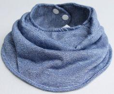Items similar to Baby Bandana Bib Soft Jean Style 2 on Etsy Bandana Bib, Handmade Baby, Our Baby, Baby Bibs, Jeans Style, Cotton, Kids, Etsy, Bibs