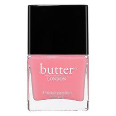 butter LONDON Nail Lacquer in Fruit Machine - opaque carnation pink #sephora