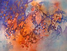 Evi'spir@l Aquarelle Creation composition Le temps des cerises