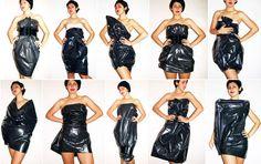 Bin Bag Dresses