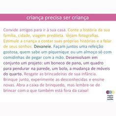 Da série #criançaprecisasercriança Parte 4 #criança  #infância #desenvolvimentoinfantil #SMB #contarhistorias  @ninguemcrescesozinho