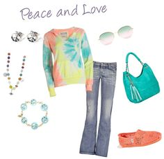 """Peace and Love"" by mmessenger on Polyvore"