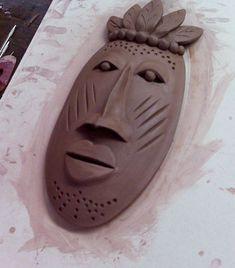 Hand built clay