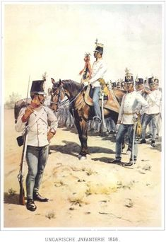 Hungarian Infantry, 1856