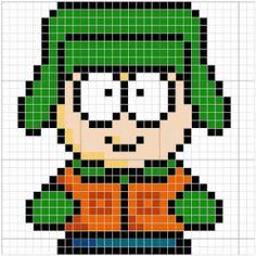 Clique para acessar os gráficos dos personagens do South Park