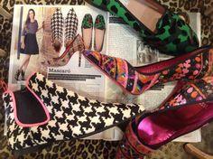 Precioso reportaje de Telva sobre Mascaró! #ÜrsulaMascaró #prettyballerinas #prettyloafers