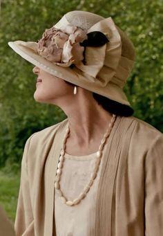 Cora's beautiful hat - Cricket match Season III