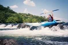 Kayaking adventure awaits you on the Lower Mountain Fork River in southeast Oklahoma.