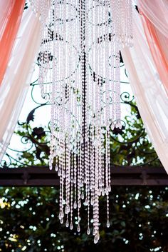Chandelier at the alter?! Yes, please!