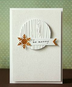 handmade Cristmas card from scrapperia: Gold, gold, gold! Simple Christmas Cards, Xmas Cards, Holiday Cards, Elegant Christmas, Winter Cards, Fall Cards, Cute Cards, Diy Cards, Winter Karten