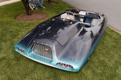 1962 El Tiburon Shark roadster back view