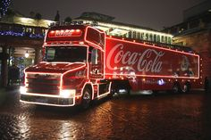 Old Coke Truck with Christmas Lights | The Commons Getty Collection Galleries