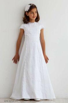 Vestidos de comunion simples