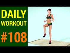 Day 108 - Daily Workout Plan: Intense Fat Loss (207 Calories) - YouTube