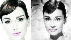 Audrey Hepburn MakeUp Tutorial: How to Look Like Audrey Hepburn...