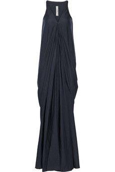 Rick Owens Aurora crepe maxi dress | NET-A-PORTER