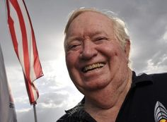 One giant leap: Retired Air Force colonel Joe Kittinger has held the record for a high-altitude jump for 52 years.