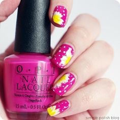 Pink OPI Flower Nails Pictures, Photos, and Images for Facebook, Tumblr, Pinterest, and Twitter