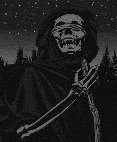 The Forest (prod. by Dark Way x JackOhWk) Aesthetic Grunge, Aesthetic Art, Aesthetic Pictures, Aesthetic Anime, Black Aesthetic Wallpaper, Aesthetic Backgrounds, Satanic Art, Skeleton Art, Arte Obscura