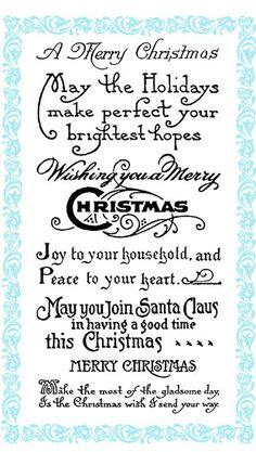 Christmas Greetings - Wish you a Merry Christmas