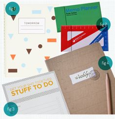 "@Studio Calico Love the ""stuff to do"" pad. Great color, great pattern, and makes me giggle."