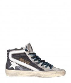 Sneakers Homme Slide Noir Nabuk
