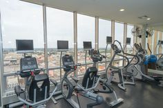 We prefer a workout that overlooks the beauty of the French Quarter.