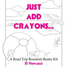 Just Add Crayons: A Road Trip Boredom Buster Kit  | Spoonful