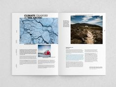 Redesign of Greenland Today on Behance