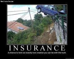 (Your Insurance Carrier) What happen? [You] Well.. huh.. see, what had happen was... [we be trippin] funny
