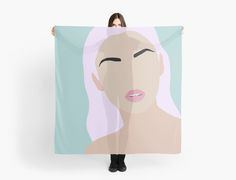 Violet scarf by JulesTillman