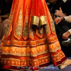 nice detailing on this lengha skirt