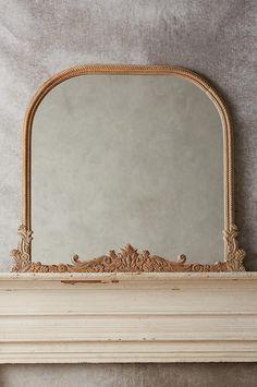 Carved Mango Wood Barton Mirror | Anthropologie