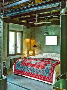 La cama de Gustavo Salmerón - AD España, © D.R.