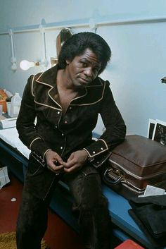 """groovyant70: """"James Brown """"The Funk Soul Brother Number One"""" """""""