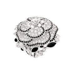 Chanel's Jardin de Camélias collection ring