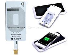 QI i5 SC Ultra Slim Wireless Charger Receiver Module for iPhone 5S/5/5C/iPad Mini