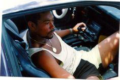 Cornell listening to the radio in the Camaro 1992! X