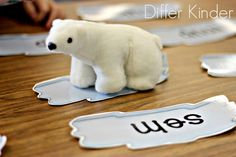polar themed nonsense words work Word Work Activities, Reading Activities, Reading Skills, Winter Activities, Differentiated Kindergarten, Kindergarten Activities, Weather Words, Nonsense Words, Polar Animals
