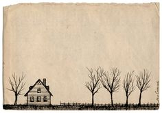 "joncarling: ""a small house in the country """