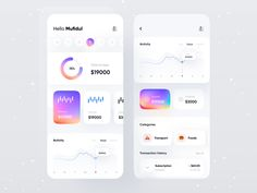Finance app designed by Mufidul. Connect with them on Dribbble; Screen Design, Ui Inspiration, Crypto Currencies, App Ui, Ui Ux Design, Mobile Design, Mobile Ui, Rebounding, Show And Tell
