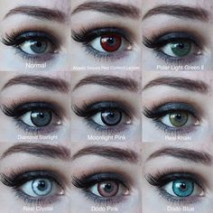 Green Contacts Lenses, Colored Contacts, Contacts Online, New Year New Me, Circle Lenses, Color Lenses, Which One Are You, Alternative Girls, Halloween 2019