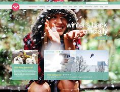 Roxy.com site design by Dann Petty  http://www.behance.net/gallery/Roxycom/546007